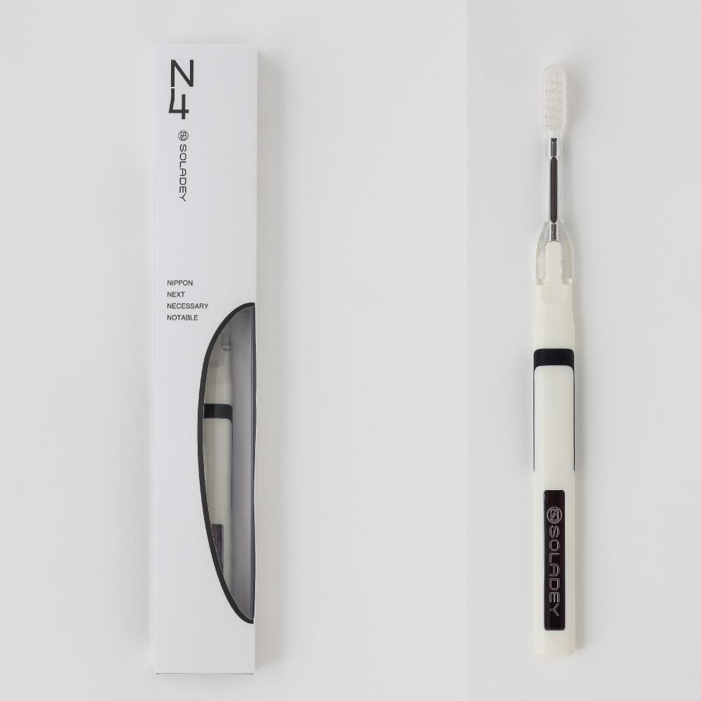 災害用歯ブラシ「ソラデー(持ち運び用ポーチ付き)」