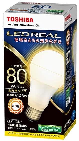 <在庫限り特価品>東芝 LDA11L-G/80W LED電球 E-CORE 一般電球形 全方向タイプ 一般電球80W形相当