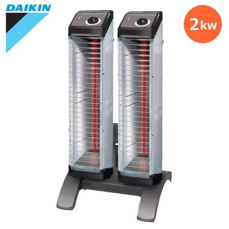 ダイキン セラムヒート 遠赤外線暖房機 「ERK20ND」 床置スリム形 シングルタイプ らくちんキャリー付 単相200vタイプ