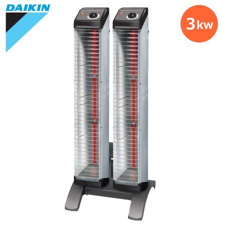 ダイキン セラムヒート 遠赤外線暖房機 「ERK30ND」 床置スリム形 シングルタイプ らくちんキャリー付 単相200vタイプ