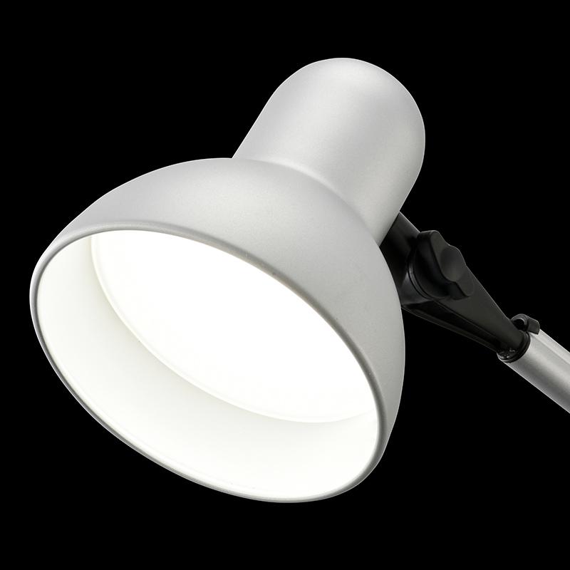オーム電機 AS-LS20B-S クランプ式LEDアームライト(昼白色/シルバー)