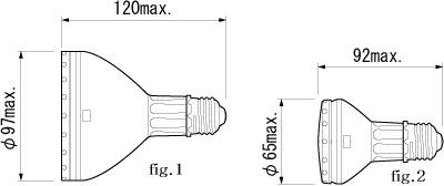 フィリップス(PHILIPS) マスターカラー CDM-R 70W/942 PAR30L 40°<リフレクタータイプ E26口金 高効率セラミックメタルハライドランプ>
