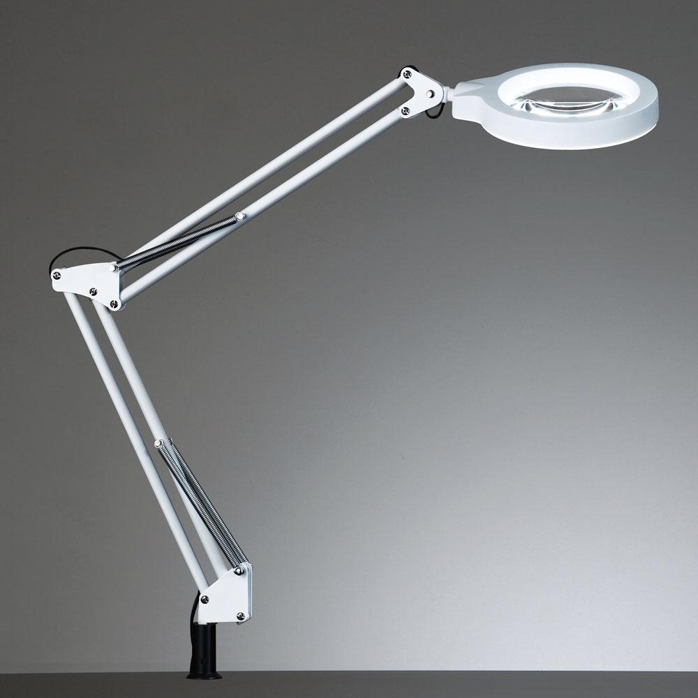 <販売終了品・後継機種あります>山田照明 Z-ライト(Z-LIGHT)Z-37NLW(Z-37N LW) ホワイト LEDデスクスタンド