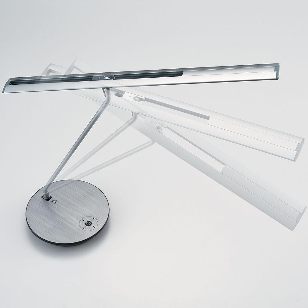 山田照明 Z-ライト(Z-LIGHT)Z-6600SL(Z-6600 SL) シルバー LEDデスクスタンド