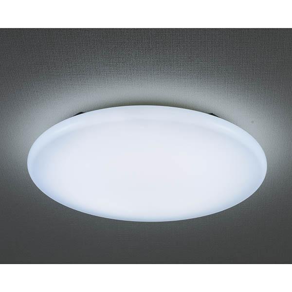 オーム電機 LE-Y37D6G-W3 LEDミドルサイズシーリングライト(45cm/6畳用/昼光色)