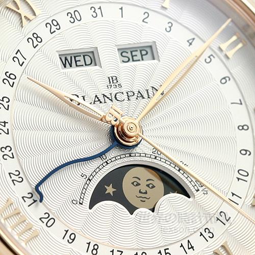 ブランパン 6664-3642-55B ヴィルレ・コンプリートカレンダー・ムーンフェイズ・ハーフハンター