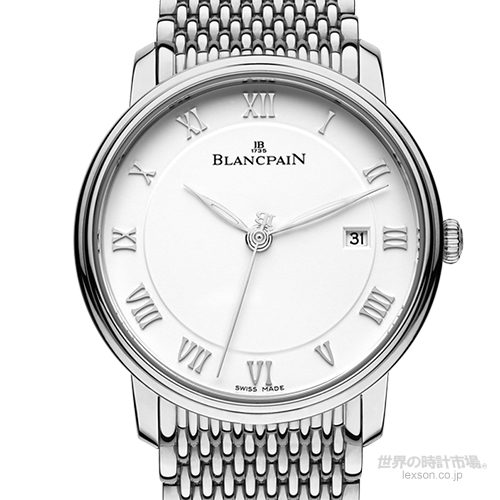 ブランパン 6651-1127-MMB ヴィルレ・ウルトラスリム・セコンドハンドデイト