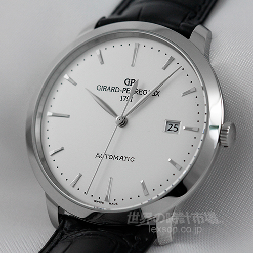 """ジラールペルゴ  49555-11-131-BB60  """"1966"""" 40MM スティール"""