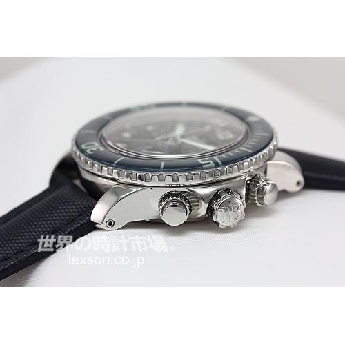 ブランパン 5066F-1140-52B フィフティ・ファゾムス・コンプリートカレンダー・ムーンフェイズ・フライバック・クロノグラフ
