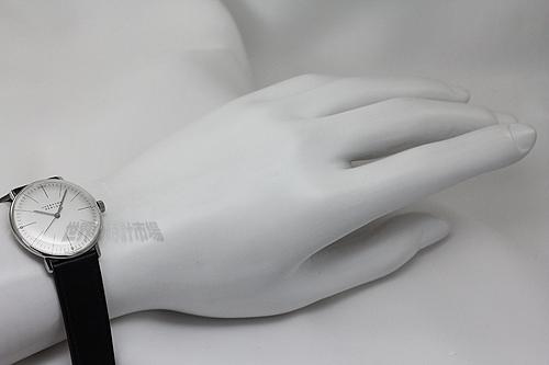 ユンハンス 027 3700 00 マックス・ビル バイ ユンハンス ハンドワインド(34mm)