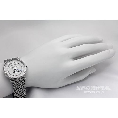 ブランパン 6654-1127-MMB ヴィルレ・コンプリートカレンダー・ムーンフェイズ