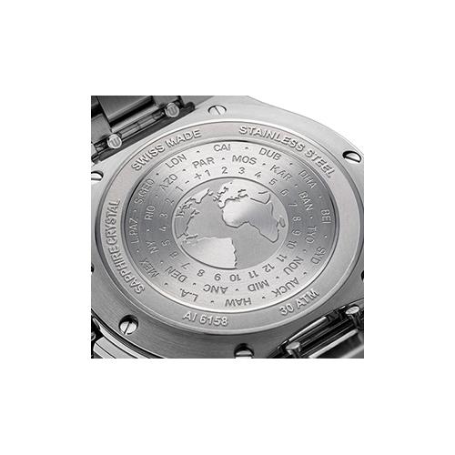 モーリスラクロア AI6158-SS00F-330-A アイコン ベンチュラー GMT 43mm