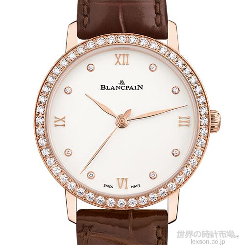 ブランパン 6104-2987-55A  ウーマン・ウルトラスリム(ヴィルレ・ウルトラスリム)
