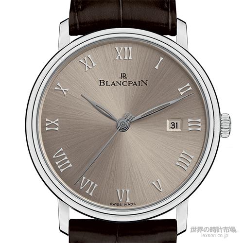 ブランパン 6651-1504-55 ヴィルレ・ウルトラスリム・セコンドハンド・デイト