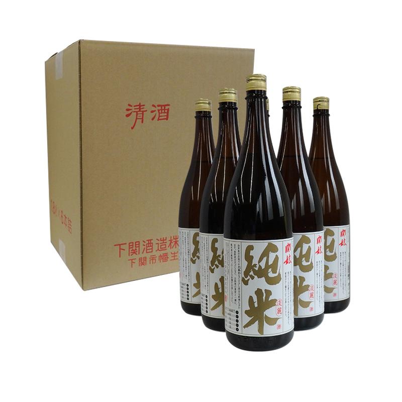 純米淡麗 純米酒1800ml 1ケース(6本)