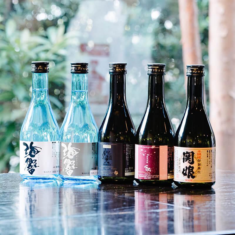 mini set 小酒家 300ml×5本