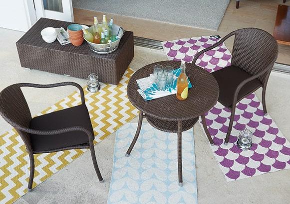 アマルフィーダイニングテーブル【ガーデンファニチャー】