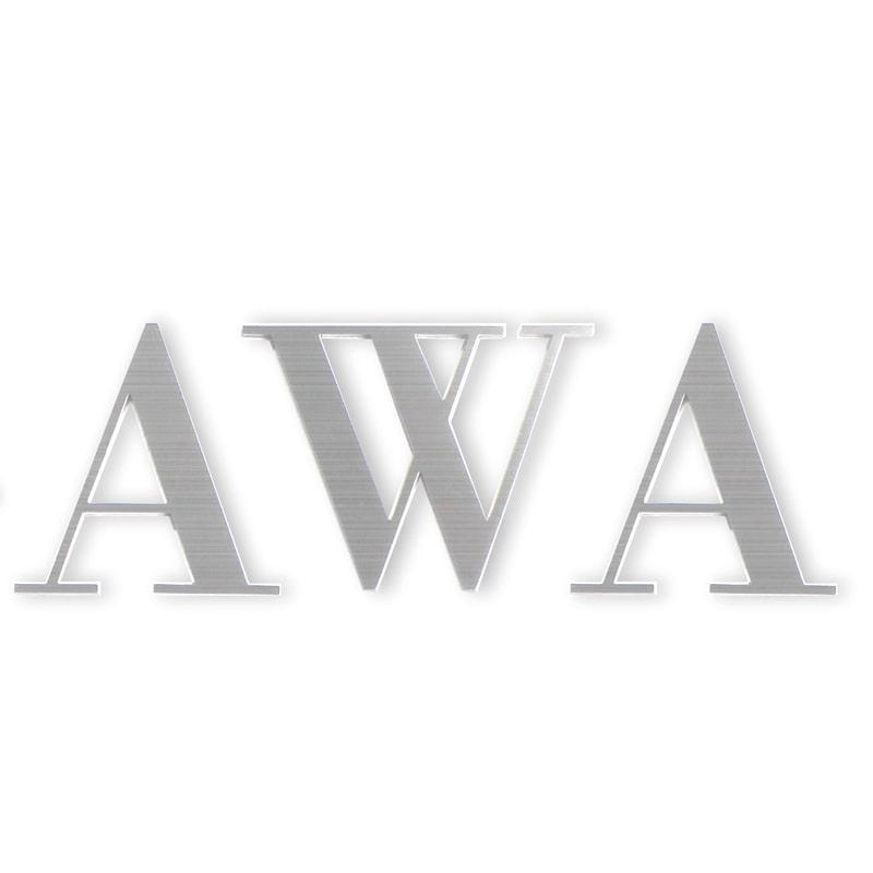 【表札】フォントサイン 英字ブロック体