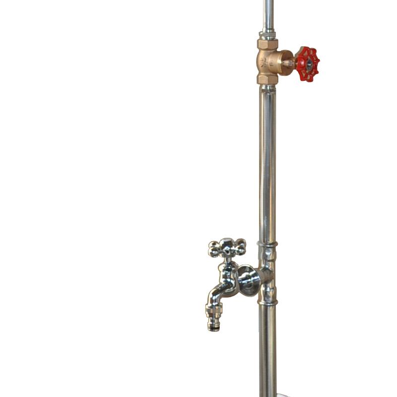 【ガーデンシャワー】ヌーディシングル(618)※単水栓/水抜き機能付