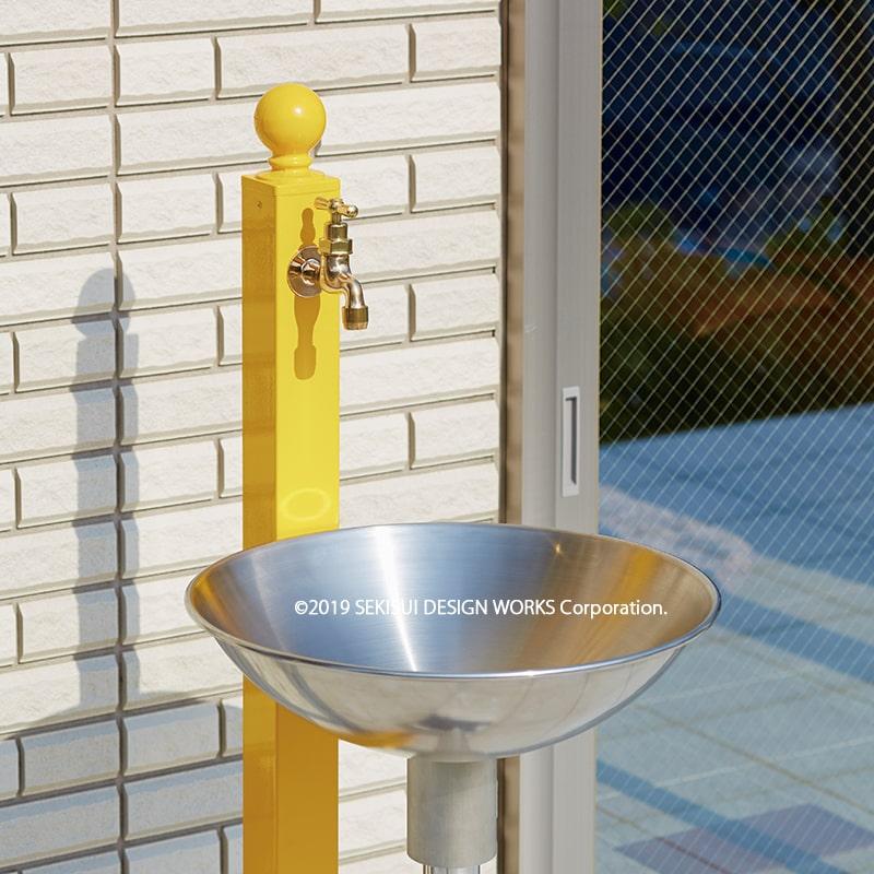 【立水栓・水栓柱】ガーデンタップ(2口タイプ)全9色