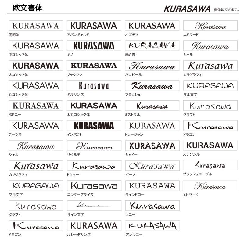 【レターボックスマン専用表札】 ネームプレート(レターボックスマン)