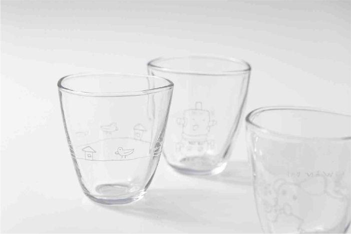 ガラスフリーカップ