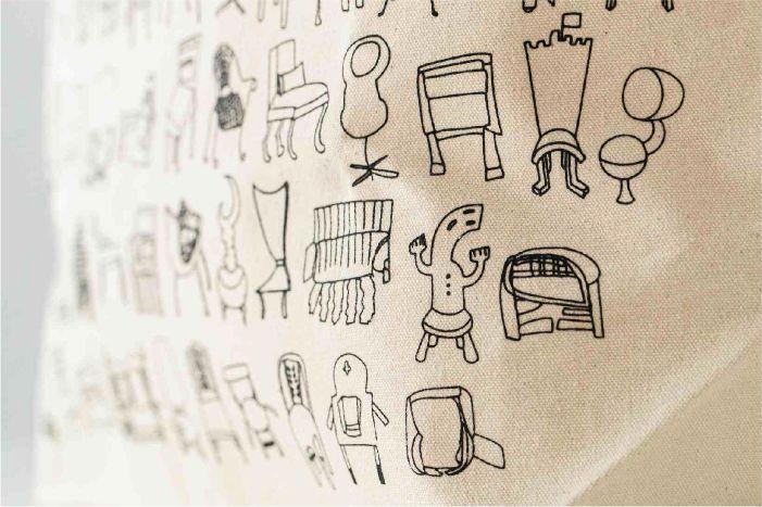 椅子トートバッグ