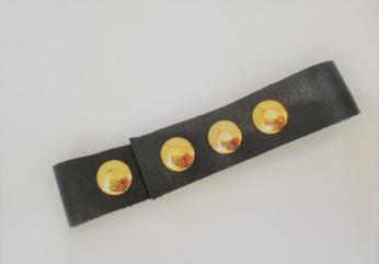 革製マスクバンド(2本セット)