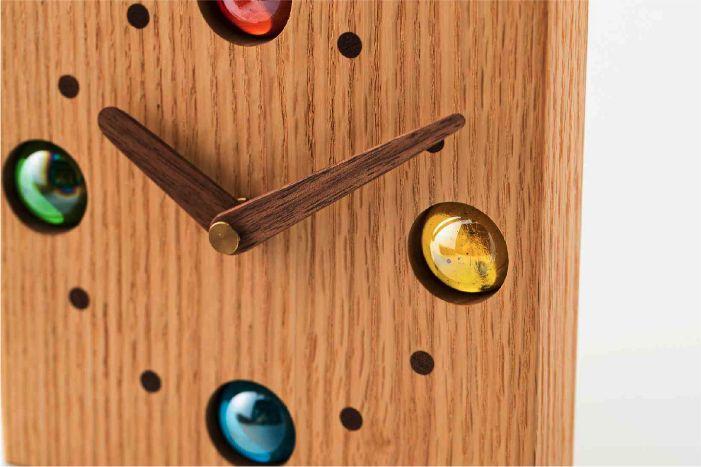 ビー玉時計