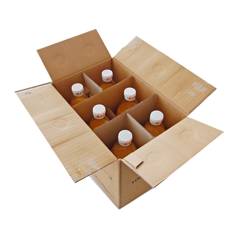 ご自宅用簡易包装 果汁100%ジュース(うんしゅうみかん) 6本入