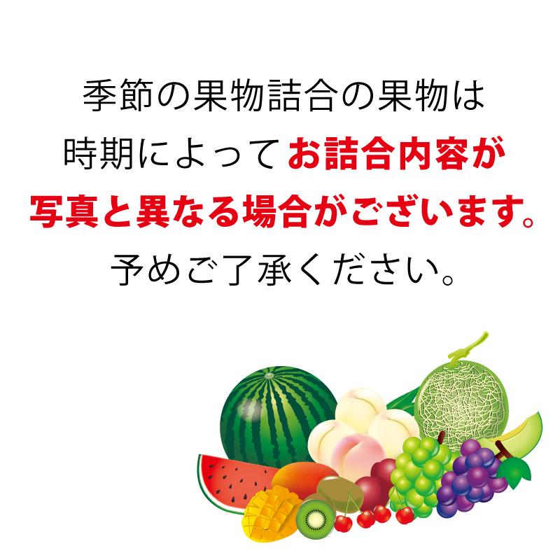 季節の果物詰合(6) かご入
