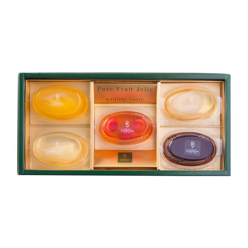 ピュアフルーツジェリー 5個入 (千疋屋のゼリー)