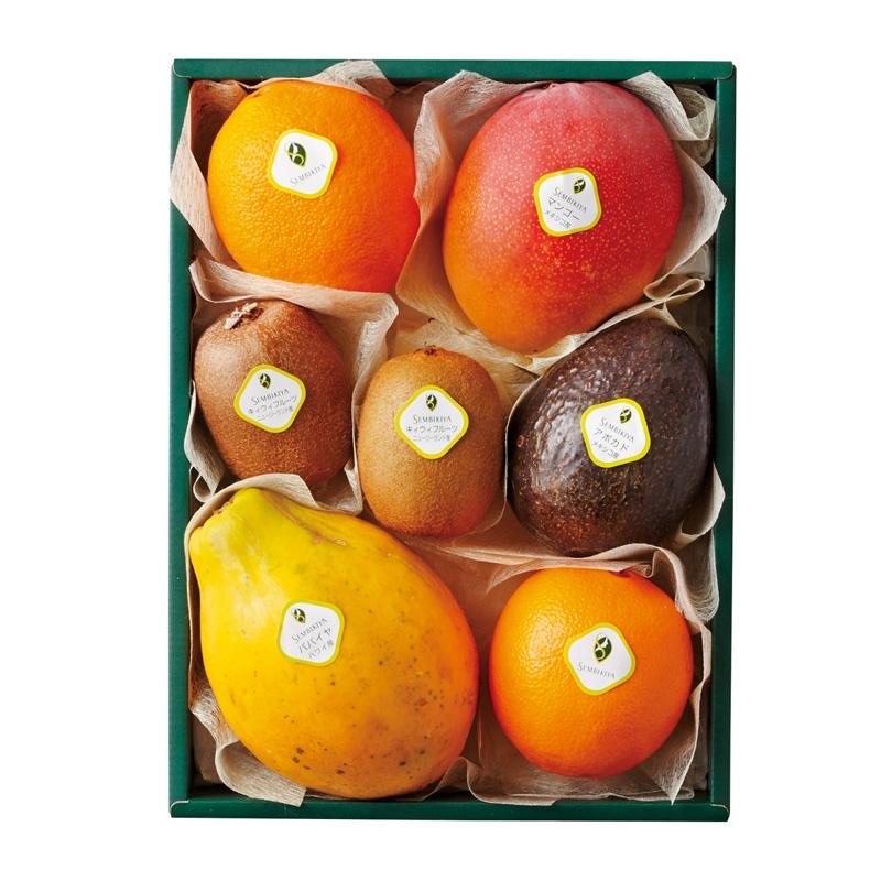 トロピカルフルーツ詰合(1) 化粧箱入