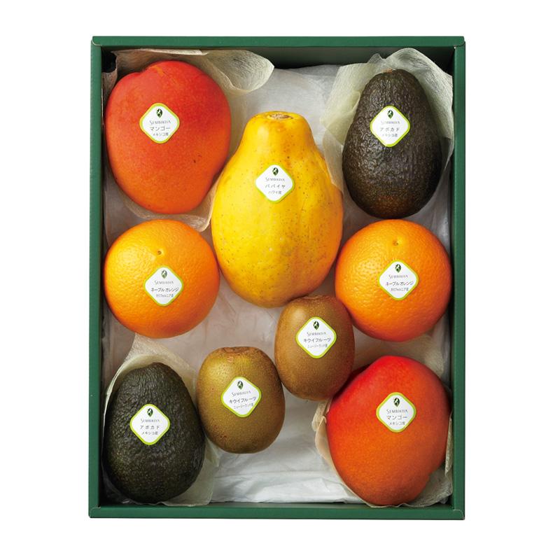 トロピカルフルーツ詰合(2) 化粧箱入