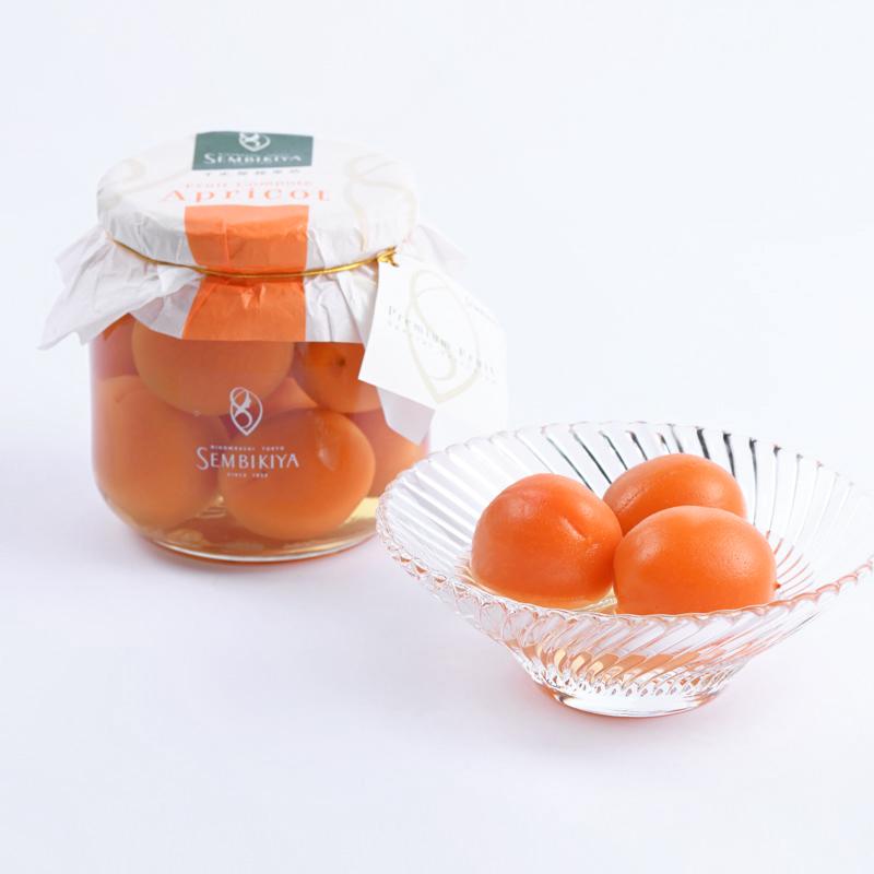 杏(あんず)シロップ漬け(1瓶入)