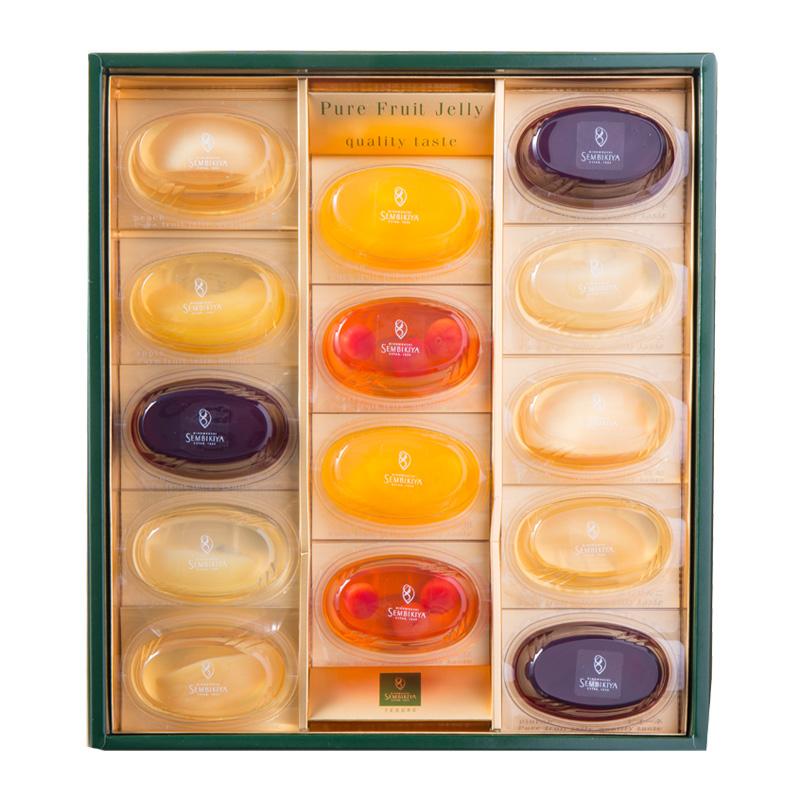 ピュアフルーツジェリー 14個入 (千疋屋のゼリー)