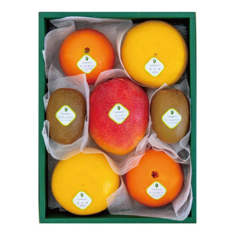 季節の果物詰合(1) 化粧箱入