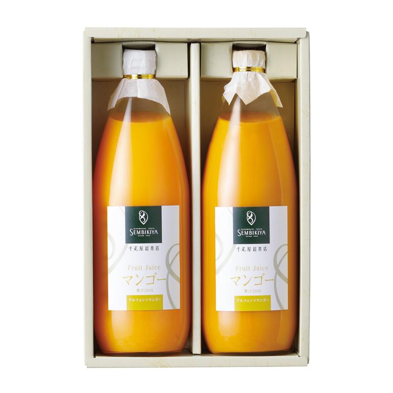 果汁100%ジュース(アルフォンソマンゴー) 2本入