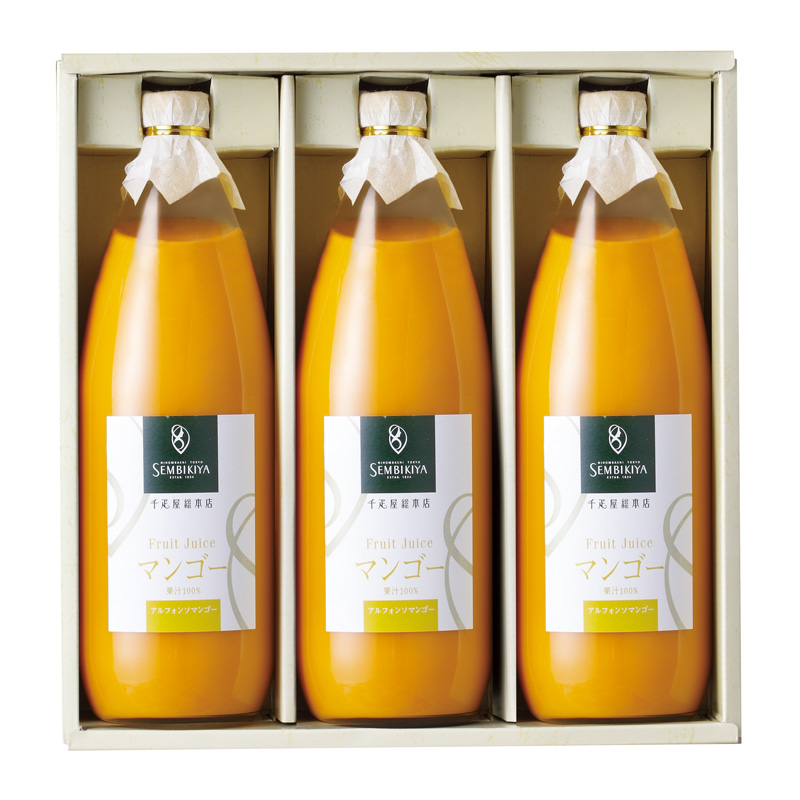 果汁100%ジュース(アルフォンソマンゴー) 3本入