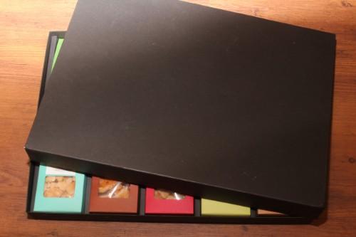 三角カートン用、空の贈答箱10個入りバージョン