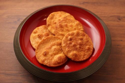 【塩分極小】 神楽坂煎餅 やや堅焼 Low salt