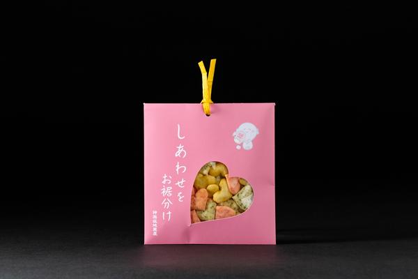 神楽坂プチギフト「ハートピンク」