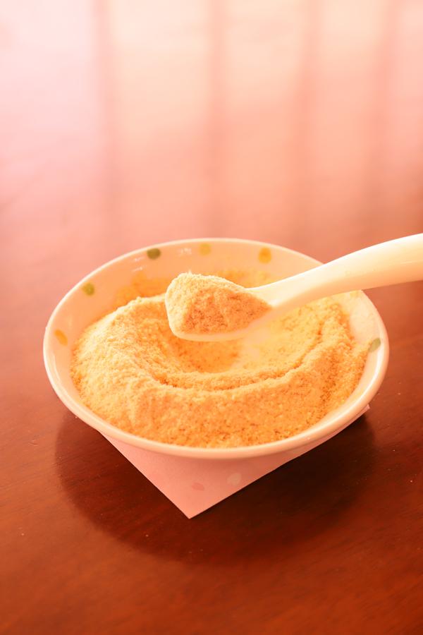 新発売!家族で食べれる幸せ パン粉・小麦粉の代替「素焼せんべい粉」高級ジップロック