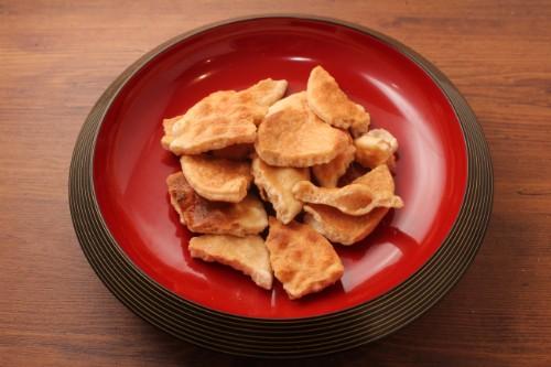 素焼き煎餅 堅焼