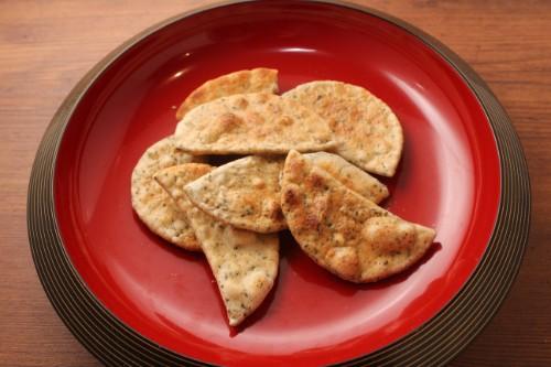 手焼煎餅 素焼青のり煎餅(三角カートンギフト)