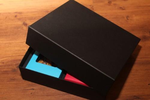 三角カートン用、空の贈答箱2個入りバージョン