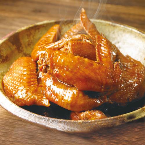 鶏三和 国産鶏の手羽煮 醤油味