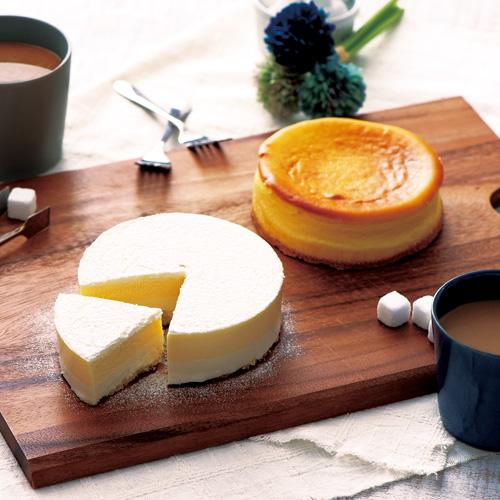 ビアードパパ ベイクドチーズケーキ&ネージュ・ド・フロマージュ