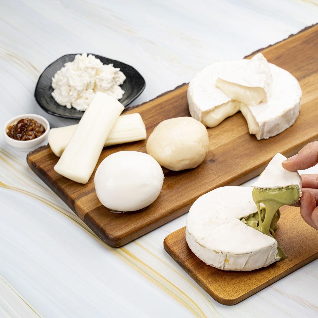 【無添加・手作り】<br>ナチュラルチーズ<br>6種セット