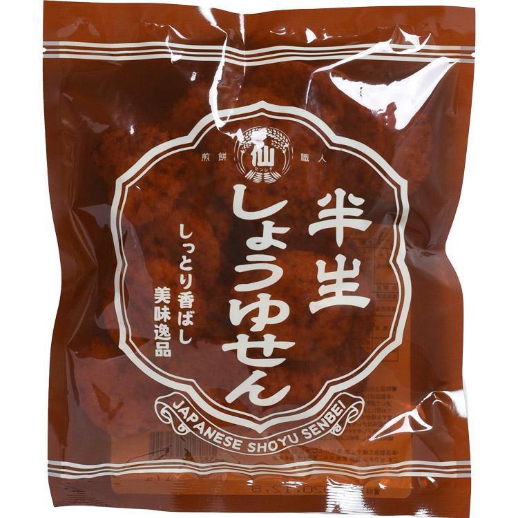 半生しょうゆせん(ぬれ煎餅)80g